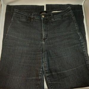 NYDJ Women's Blue Wide Leg Comfy Fit Jeans SZ 12